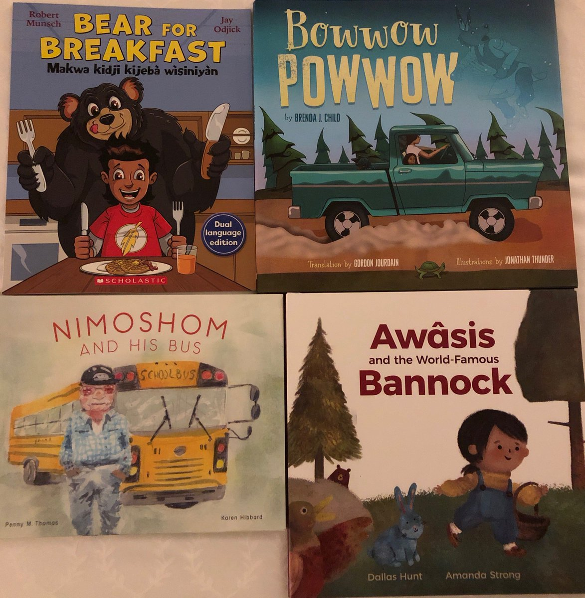 A2. Buy, use, share widely books by #Indigenous authors that include language. Every action, however small, makes a difference.  Some of my favs right now @Dallas_Hunt Brenda Childs, Penny Thomas and, my cuz @JayOdjick working with Robert Munsch #21Things #Indigenous #GreatReads