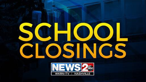 MORE school closings and delays are coming into the newsroom because of flooding. Here is the updated list – https://t.co/yFDuTWuzNw  @WKRN