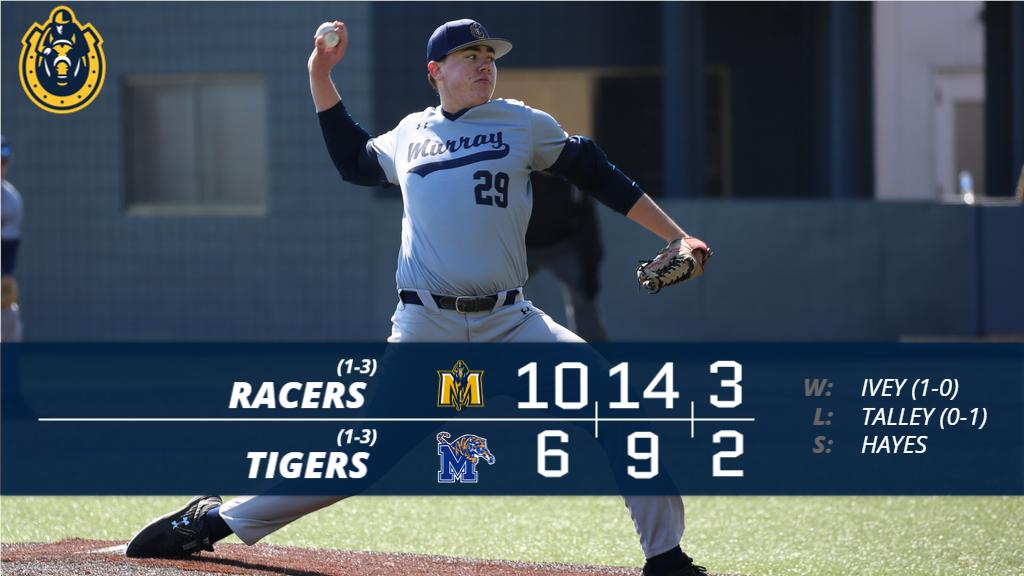 Racers Win!!  Murray State downs Memphis as Coach Skirka picks up his first career win as head coach!  #GoRacers #ShoesUp<br>http://pic.twitter.com/ICzIBsSVdZ