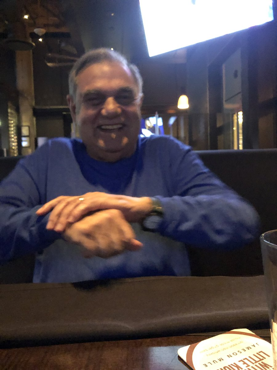 I'm having dinner with the 🐐 - I just convinced Papi to record a birthday message for Charles Barkley. It was amazing. You guys enjoy that @NBAonTNT!