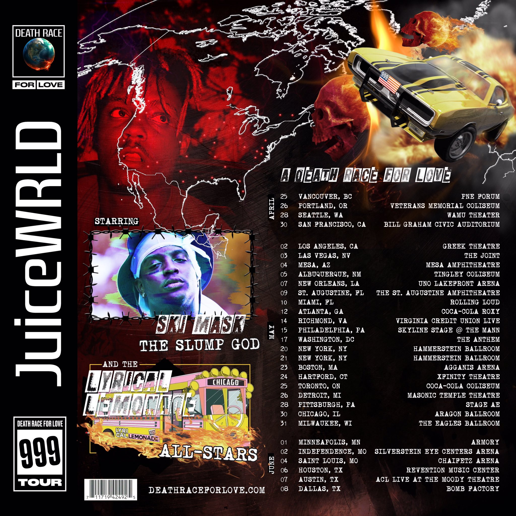 Juice WRLD - Twitter Tweet - Tour time, Are you ready