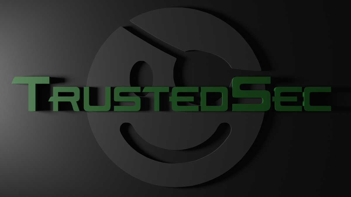"David Hughes on Twitter: ""Here's another, very simple wallpaper of @TrustedSec logo. I wasn't feeling overly imaginative this evening but I was dying to ..."