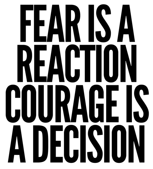A2: React or decide; every day we get to choose. #celebratED