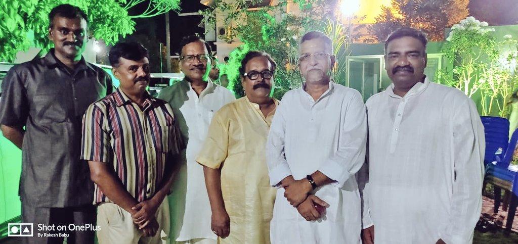 With #Pandalam Royal family member H H Sasikumar Varma in #Kollam