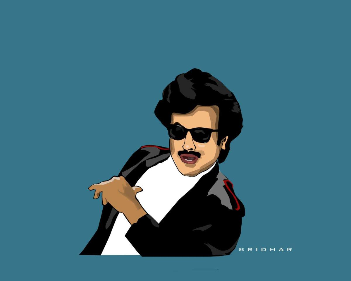 Love for one man never ends   #vectorart #digitalart #Thalaivar  #superstar #Rajinikanth #Thalaivar166  @RajiniFollowers @rajinikanth @TrendzRajini @RBSIRAJINI<br>http://pic.twitter.com/aPi2bsbcad