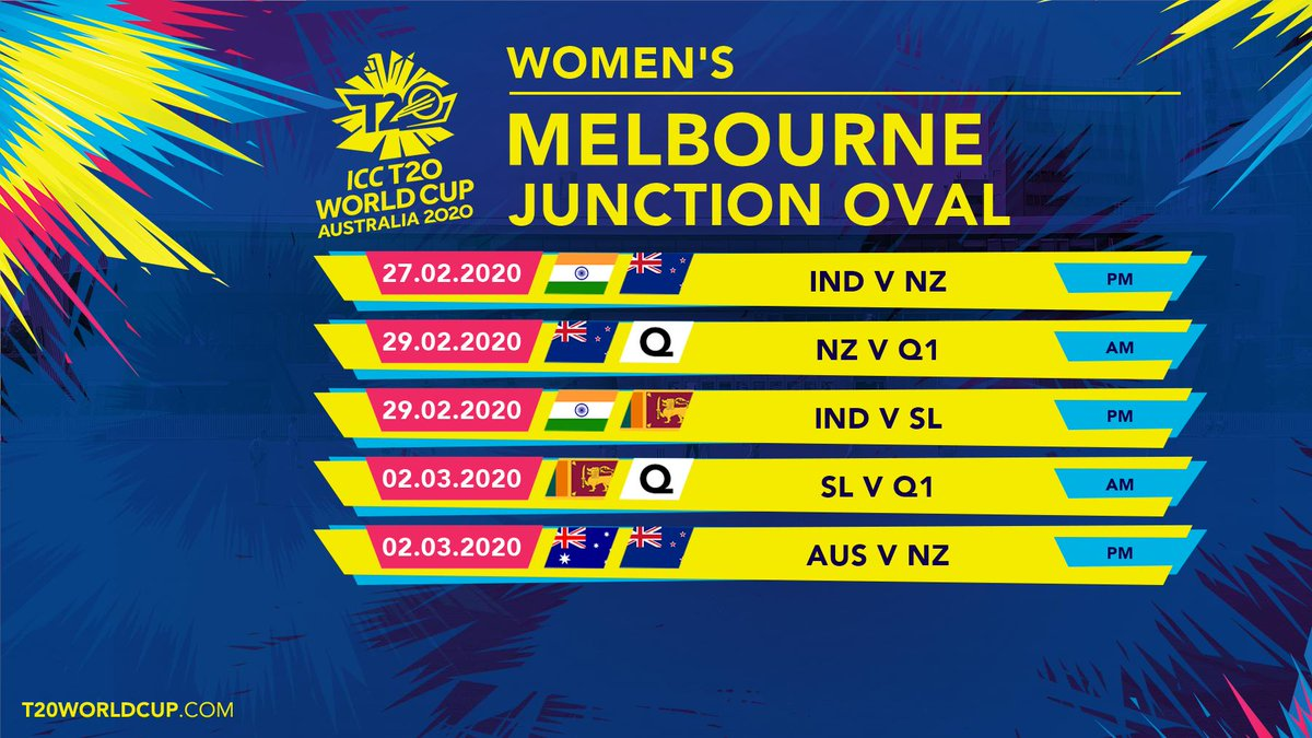 One year to go until the start of what will be the biggest women's sporting event ever staged in Australia – the ICC Women's @T20WorldCup 2020!  Don't miss out! Tix now on sale: https://Tickets.T20WorldCup.com  #T20WorldCup