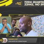 Image for the Tweet beginning: Os jogadores do Corinthians estão