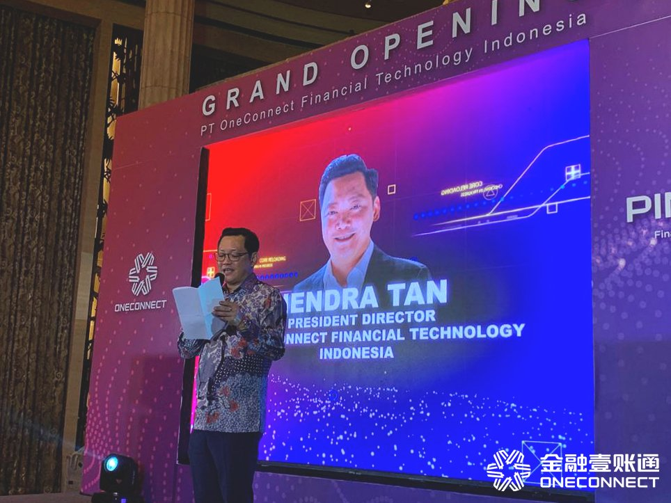 Hendra Tan, President Director of PT OneConnect FT Indonesia announced the partnership with ASPARINDO and PT OneConnect would be working to identify the gaps which fintech can be employed to help to digitize processes.  #OneConnectSingapore #innovation #facialrecognition #fintech<br>http://pic.twitter.com/b5X2SRqjA0