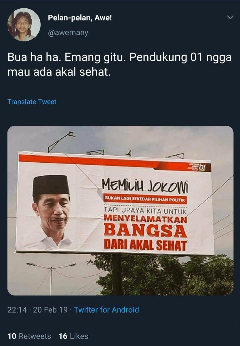 Demi memenangkan Prabowo, mereka tidak malu menyebarkan hoax.  Sungguh miris.