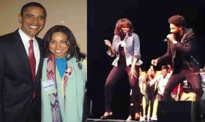 The Smollett's Worked for Barack Obama Jussie Smollett's sisters, actresses and activists, Jurnee Smollett-Bell, and Jazz Smollett-Warwell, worked as leading campaign surrogates for former PresidentObama, and less than a year ago, videos of Jussie dancing with Michelle Obama <br>http://pic.twitter.com/Rh2RgS8Qop