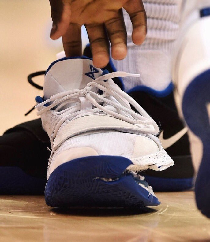 Nike PG 2.5 that Zion ripped through
