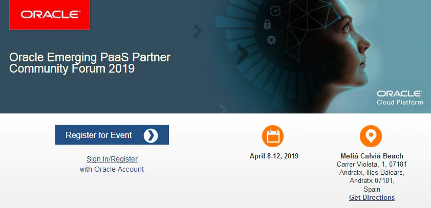 Become an @OraclePaaS expert. Attend the emerging #PaaS Partner Community Forum 2019: Spain, April 8-12. Designed for cutting-edge software consultants, engineers &amp; enterprise-level professionals. REGISTER:  http:// bit.ly/2U2OtAQ  &nbsp;   #PaaSForum #emeapartners @Oracleemeaps @fjtorres<br>http://pic.twitter.com/FykXBppxLT