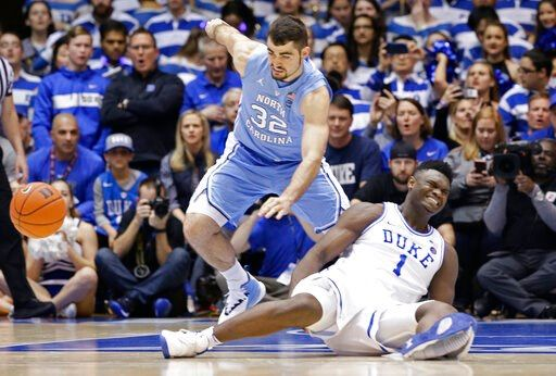 No. 1 Duke, Zion figuring out what's next after knee injury http://bit.ly/2SPAfXj