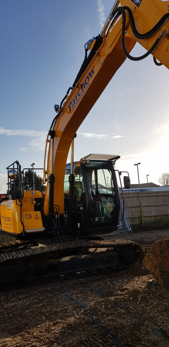 Say hello to Parchow Groundworks latest addition to its fleet - the British made @JCBmachines 13t Excavator, ready to rock and roll! #CivilEngineering #Groundworks #Construction #Foundations<br>http://pic.twitter.com/iW65u1K37h