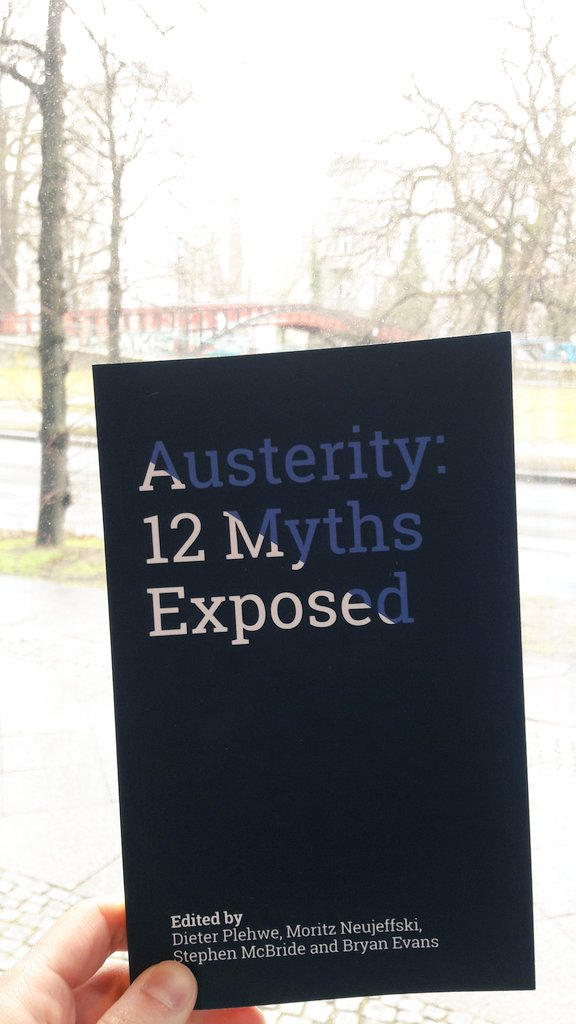 @AltAusterity @FESonline joint publication Myths of #Austerity is out! Debt-to-GDO ratio myth (Maastricht Criteria) deconstructed by @DieterPlehwe and Moritz Neujeffski<br>http://pic.twitter.com/MYvtuYjyEs