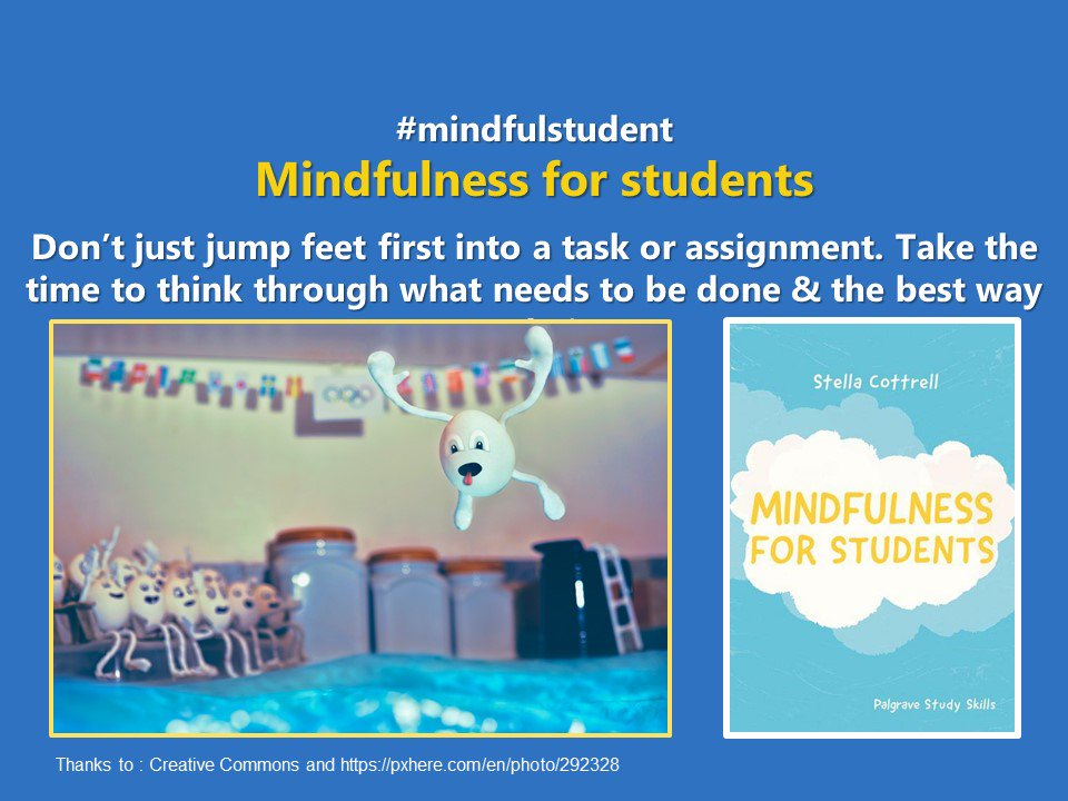 #mindfulstudent Don&#39;t just jump into assignments &amp; tasks feet-first: take time to think them through #Students #student #studentlife #college #collegelife #unilife #mindful #Mindfulness #mindfullness @StudentMindsOrg #SuccessfulStudent #studygram #uni<br>http://pic.twitter.com/47aNV1ZubG