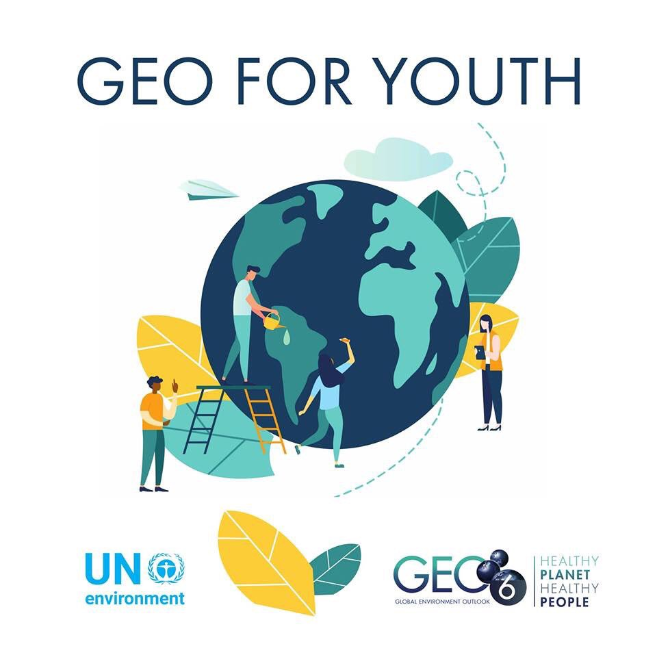 GEO-5 for Youth on Twitter:
