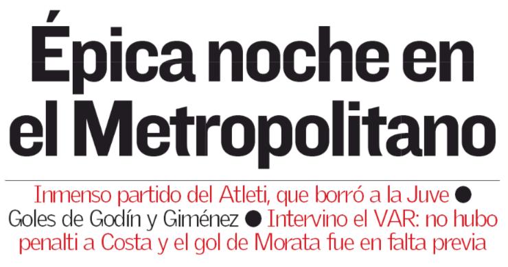 Notte epica al Metropolitano  (#As)