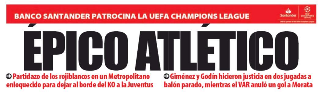 Epico #Atletico  (#MundoDeportivo)