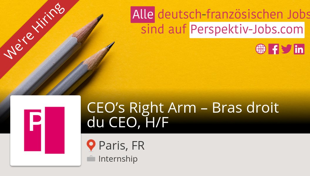 #Ornikar is looking for a #CEO's Right Arm – Bras droit du #CEO, H/F in #Paris, apply now! #internship https://workfor.us/perspektivjobs/865us2…