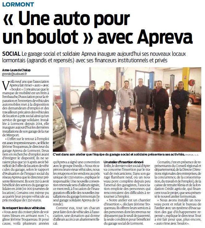 Hier, les nouveaux aménagements du garage #social et #solidaire de #Mireport ont été inaugurés à #Lormont. Un garage unique en #Gironde destiné à aider les publics les plus fragiles ! #solidarité #NouvelleAquitaine #garage #automobiles #aide @Reseau_Apreva @enedis_aqui_N https://t.co/CvifZeZyVh
