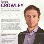 Image for the Tweet beginning: Leaflet from John Crowley -Social