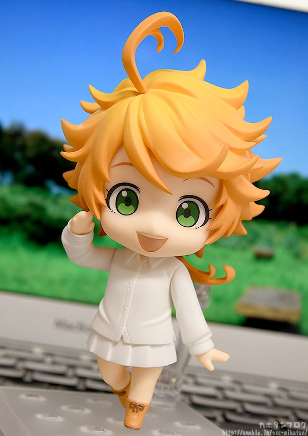 Kahotan takes a look at Nendoroid Emma from &quot;The Promised Neverland&quot;! She&#39;ll be available for preorder from the 26th of February (Tue)! Find out more in the blog below!   http:// hs.goodsmile.link/kBpy50lTuZA  &nbsp;    #thepromisedneverland #nendoroid #goodsmilecompany<br>http://pic.twitter.com/sisBW5i1bM