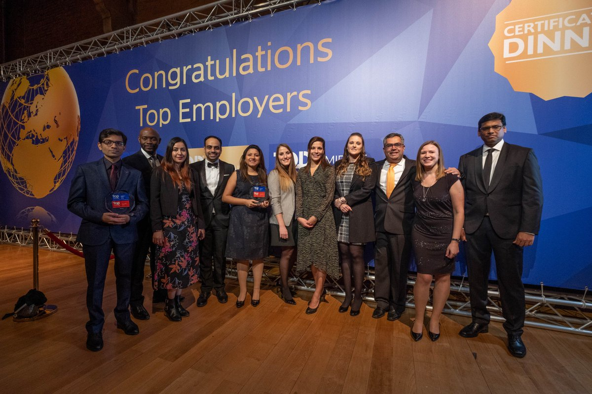 Infosys recognized among the top 3 employers in #Europe and #MiddleEast by @TopEmployer. Read the press release here https://infy.com/2DZPnas  #ForwardWithInfosys