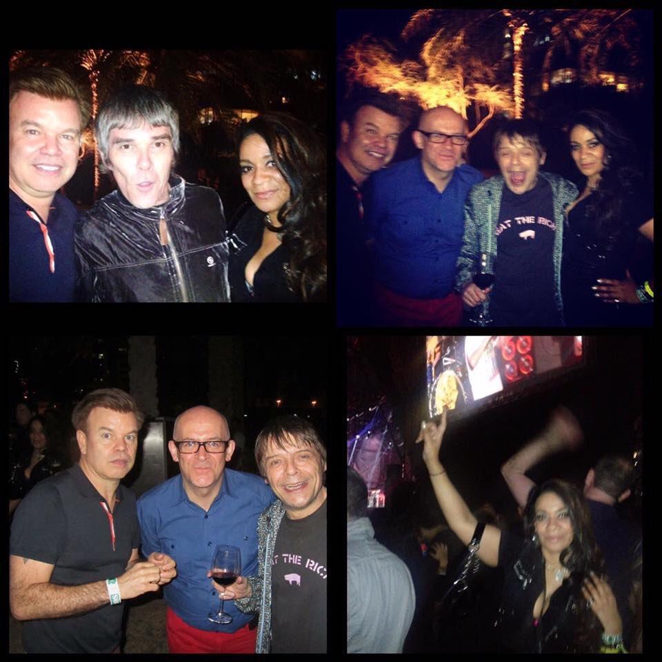 #TBT On this day... The Stone Roses Dubai - 21st February 2013  @Garymounfield1 @pauloakenfold @graemepark  #TheStoneRoses #stoneroses #dubai #Manchester