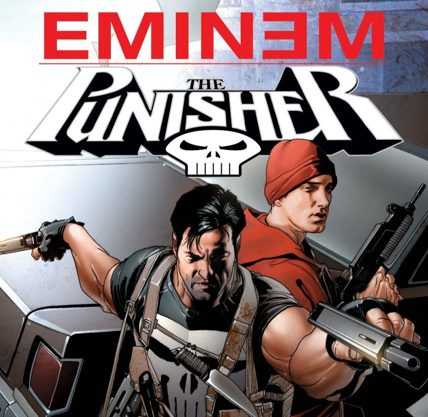 No wonder Eminem is mad about The Punisher cancellation.<br>http://pic.twitter.com/qsxQOsPG63