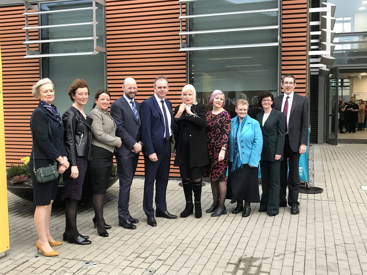 Delighted to be celebrating the launch of the new @MaynoothUni School of Education this morning — Scoil Oideachais Mhá Nuad. Congratulations to everyone involved and wishing every success to all the students and staff.