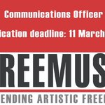 Image for the Tweet beginning: Freemuse is hiring! We are