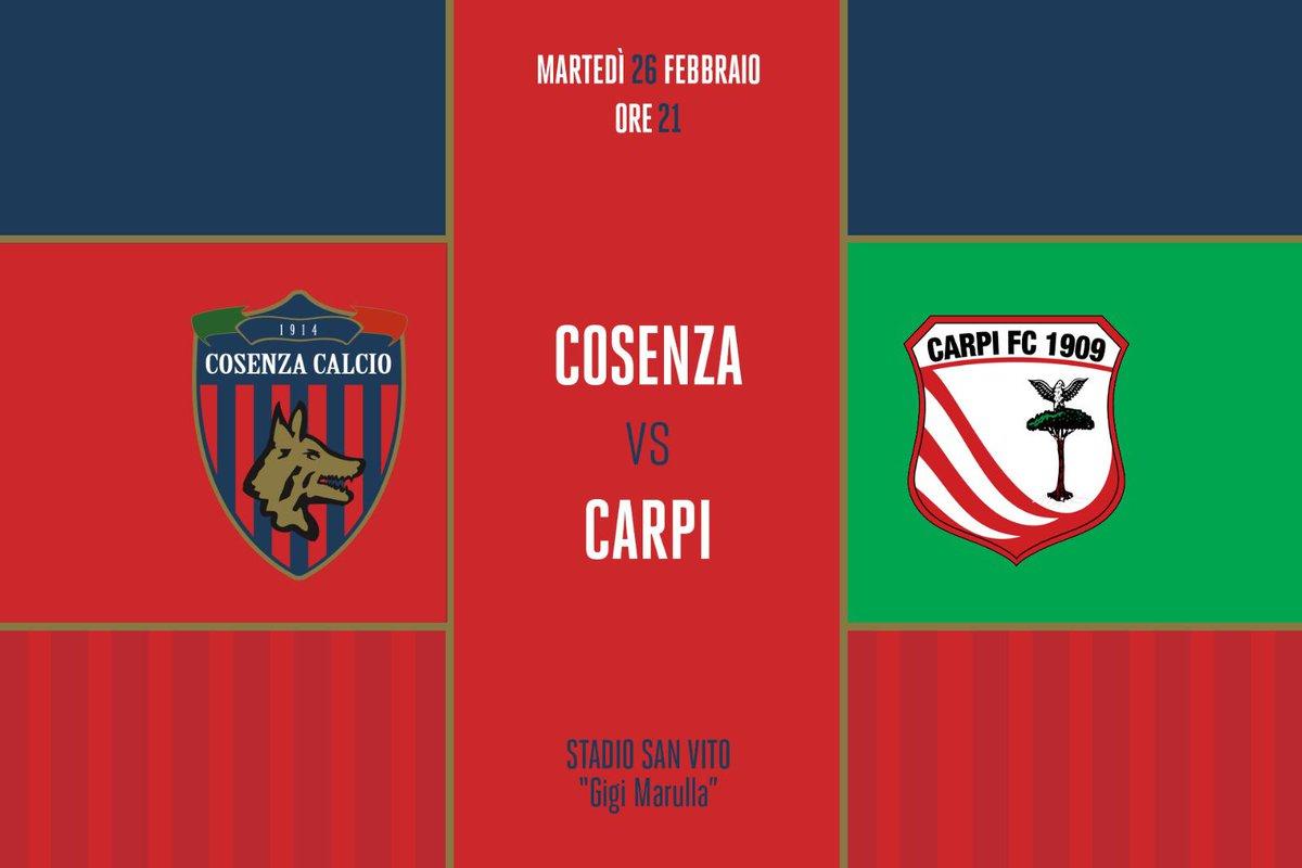 20e88fd0da0c Cosenza Calcio on Twitter: