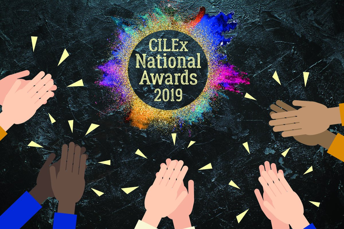 Do you know someone who deserves a round of applause? Make sure they get recognised by nominating them for the CILEx National Awards, you can nominate and find all the award categories here;  http:// bit.ly/CILExNationalA wards2019 &nbsp; …  #awards #recognition #cilex #tagafriend <br>http://pic.twitter.com/eXFMIoOgsa