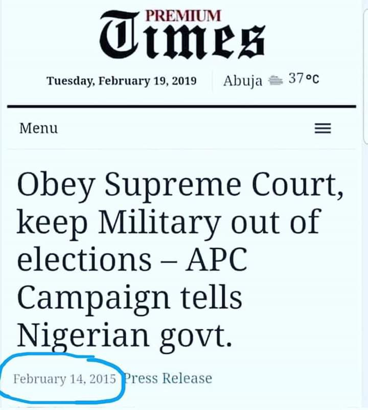 Dear Buharididirins... have you all seen this??? Read an have small sense and shame for the sake of una Generations o.   #BuhariMustGo #AtikuOurPresident #SnatchatYourOwnRisk #StayReady #NigeriaDecides2019  #NigeriaDecides <br>http://pic.twitter.com/OSO6VZL0mN
