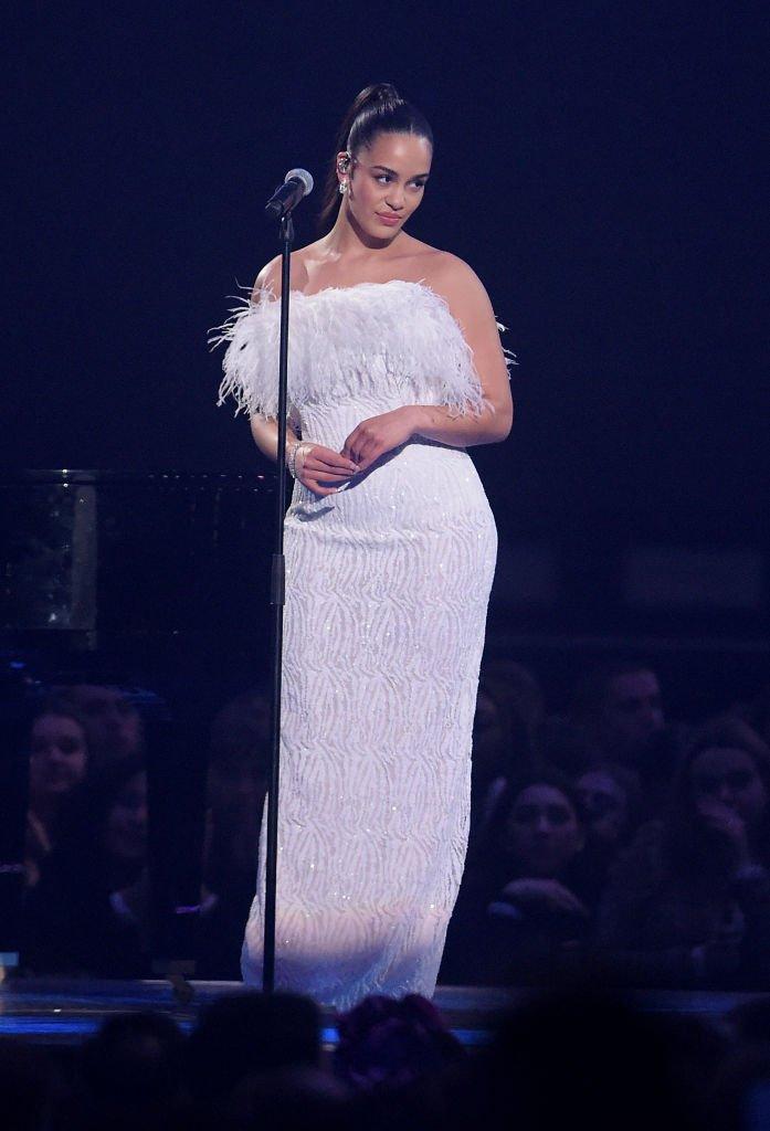 Jorja Smith picks up her #Brits Award in 16Arlington https://t.co/LdozKU6w4g