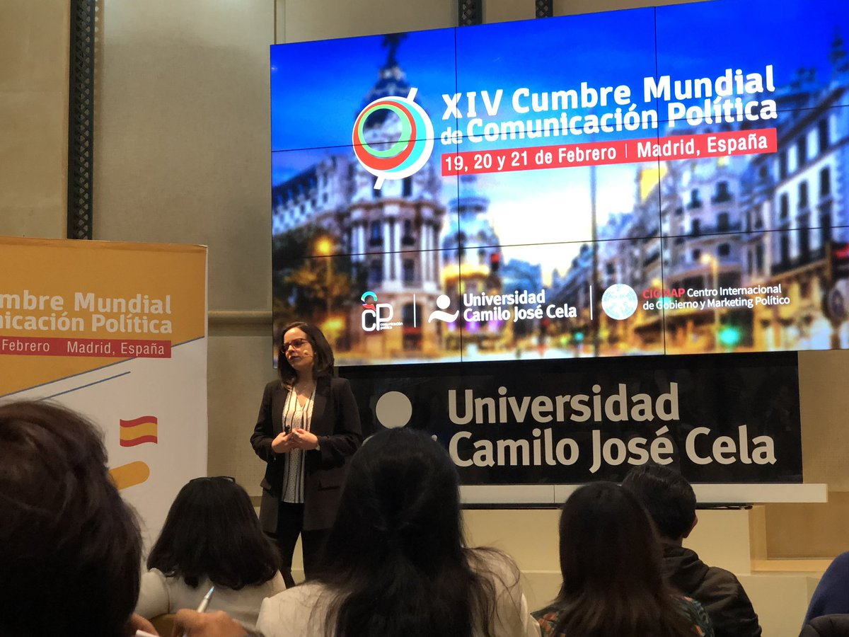 Escuchando la ponencia de Lorena Arraiz en #CumbreMadrid siempre interesante! @lorenarraiz https://t.co/CBCn3gqSZk