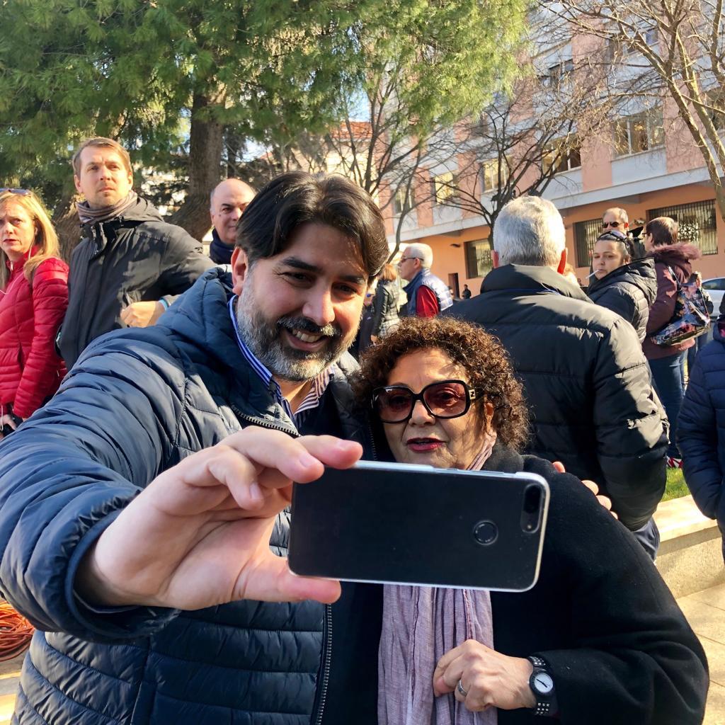 A Iglesias tra la gente! #solinaspresidente #regionali2019 #24febbraio #sardegnaregioneragionediorgoglio #votachristiansolinas #tralagente