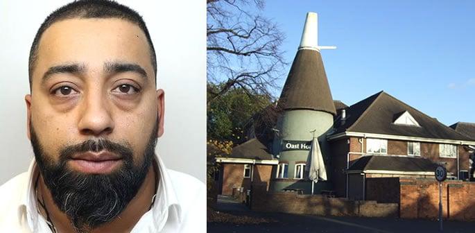 Derby Man jailed for Smashing Friend's Face outside Pub  Jatinder Dosanjh recently came out of prison: http://bit.ly/DB-dersmhfrd  #crime #UK #Violence #news