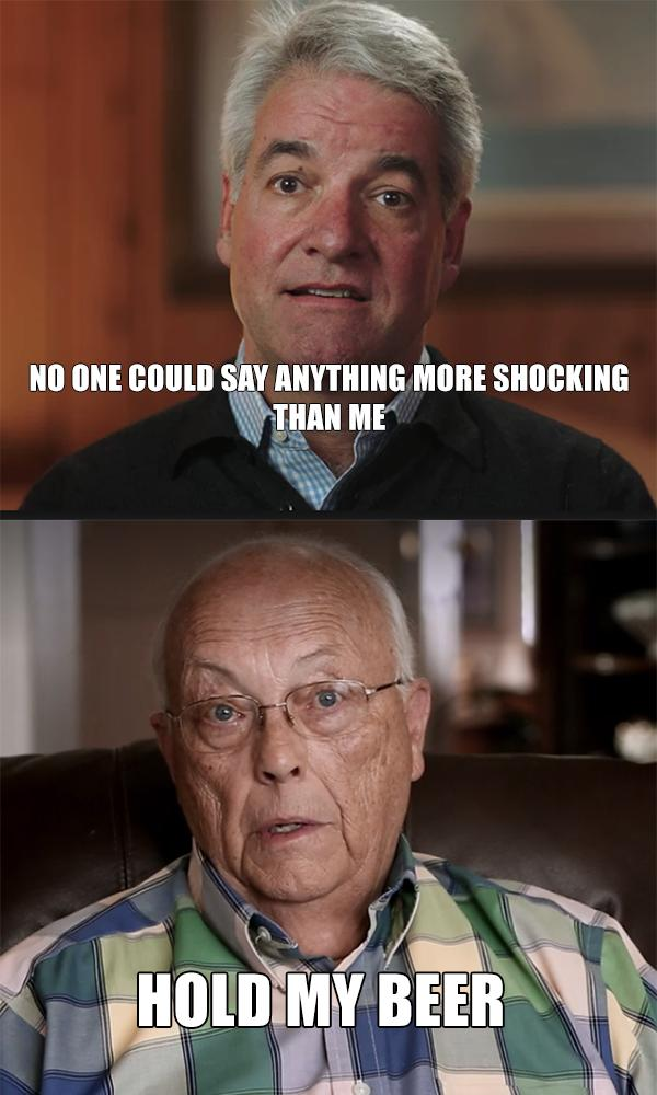 Andy from the #FyreFestival vs Bob Broberg from #AbductedInPlainSight
