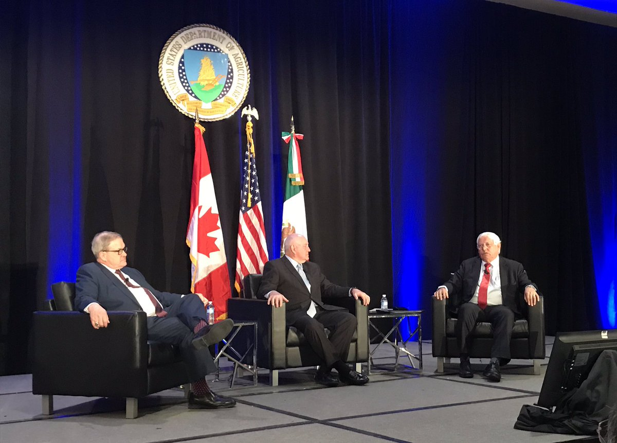 "#AgOutlook: @SecretarySonny, ""we can work together [with Mexico & Canada] to open up new markets in Asia"""