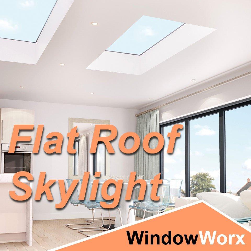 WindowWorx Flat Roof Skylight
