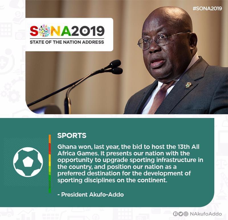 My statement on Sports ... #SONA2019