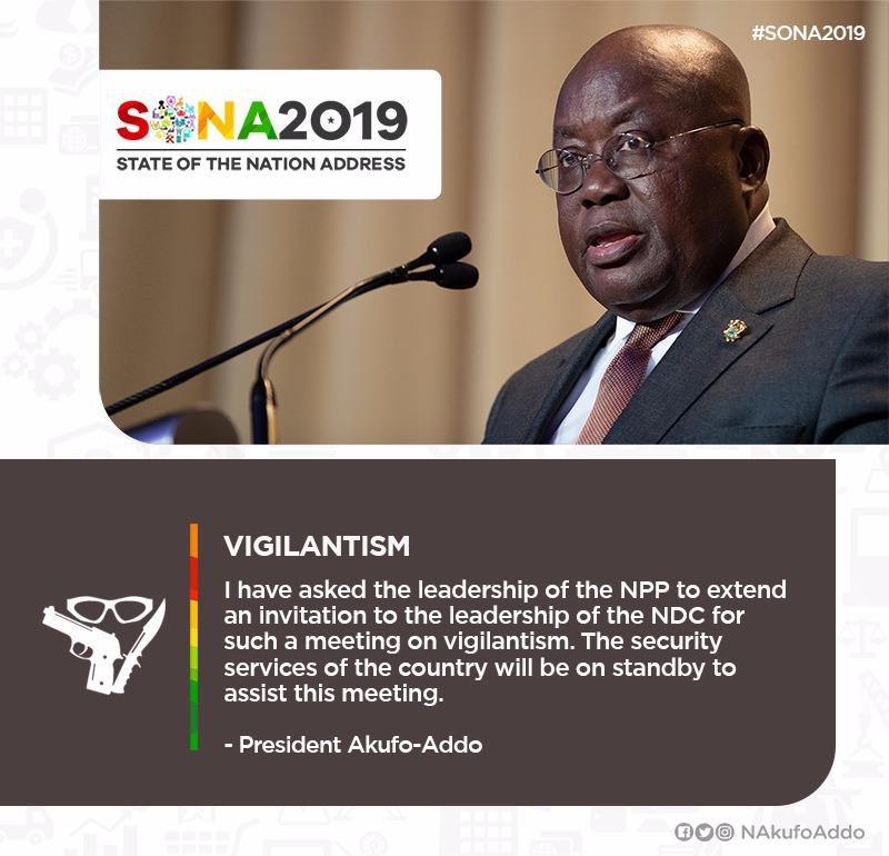 My statement on Vigilantism (cont'd) ... #SONA2019