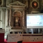 Image for the Tweet beginning: #QUANTvenice Afternoon session Bitcoin,valute private
