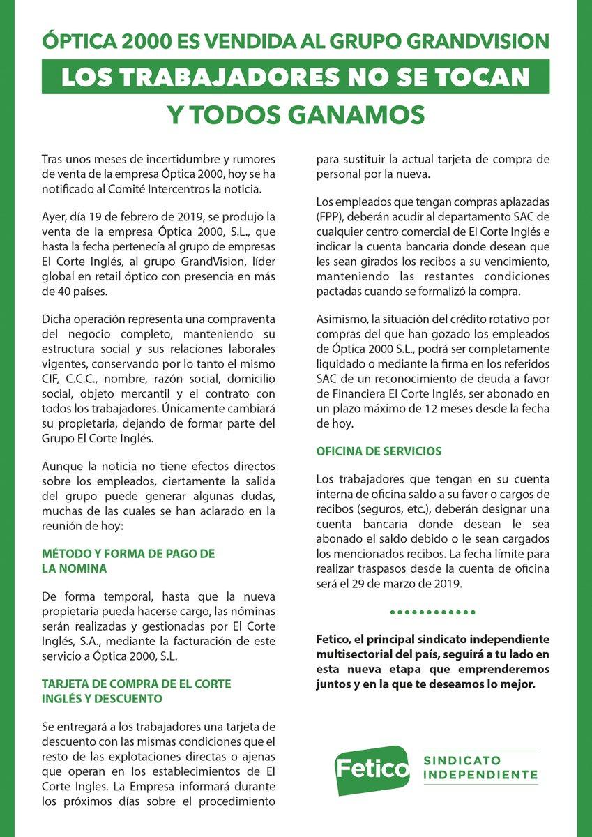 Confederación Sindical Independiente Fetico On Twitter