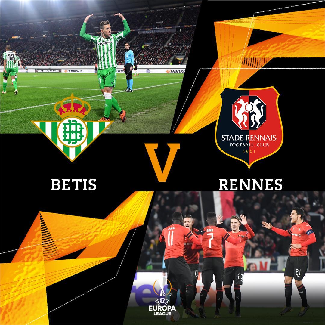 ¡No te pierdas el resto de la jornada de la #UEL! 💪  Empieza el @RealBetis - Rennes 👉https://bit.ly/2En9lNR