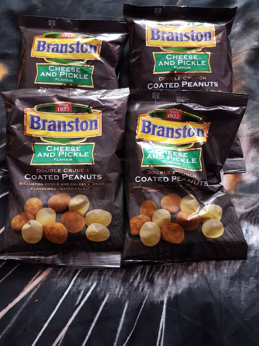 Had to buy them, love Coated Nuts plus Cheese and Pickle were to hard to say no to 😍😍
