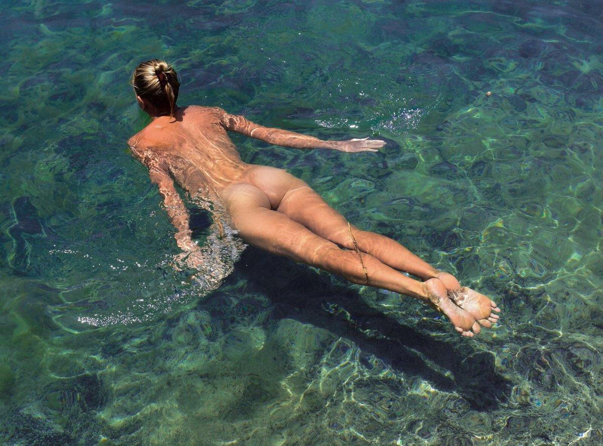 Naked skinny dip dare