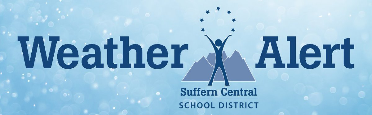 ATTENTION: Due to icy road conditions, Suffern Central School District will be operating on a 2-hour delay today, Thursday, February 21. There will be NO elementary school, due to the scheduled 1/2 day for conferences. <br>http://pic.twitter.com/gy1wbp5lmn